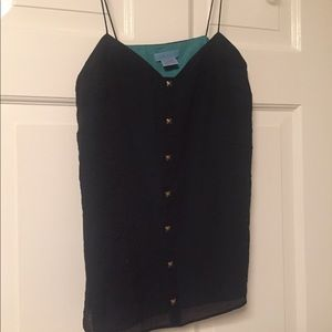 Blank Top with stud accents